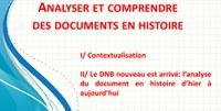 Analyser et comprendre des documents en histoire