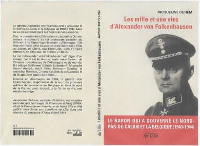 Les mille et une vies d'Alexander von Falkenhausen (Jacqueline Duhem)